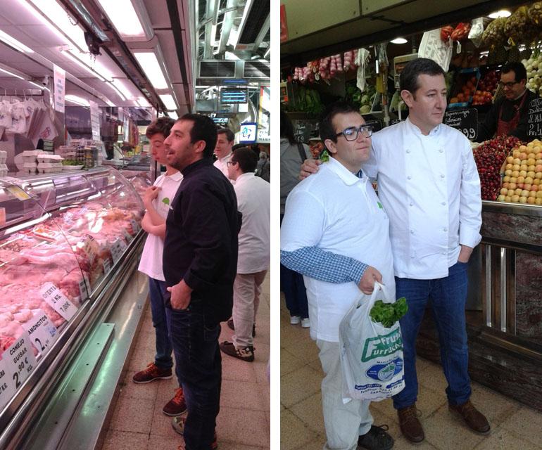 Inclucina en el Mercado Central de Zaragoza