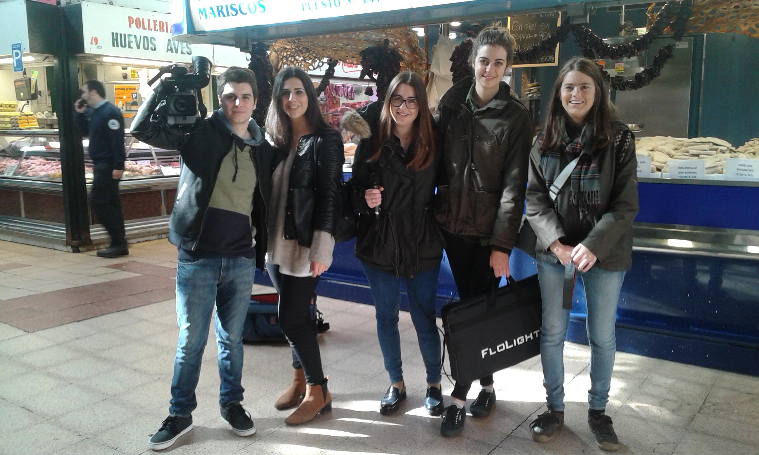 Reportaje de cinco estudiantes de grado de periodismo