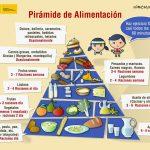 Piramide alimenticia Mercado Central de Zaragoza