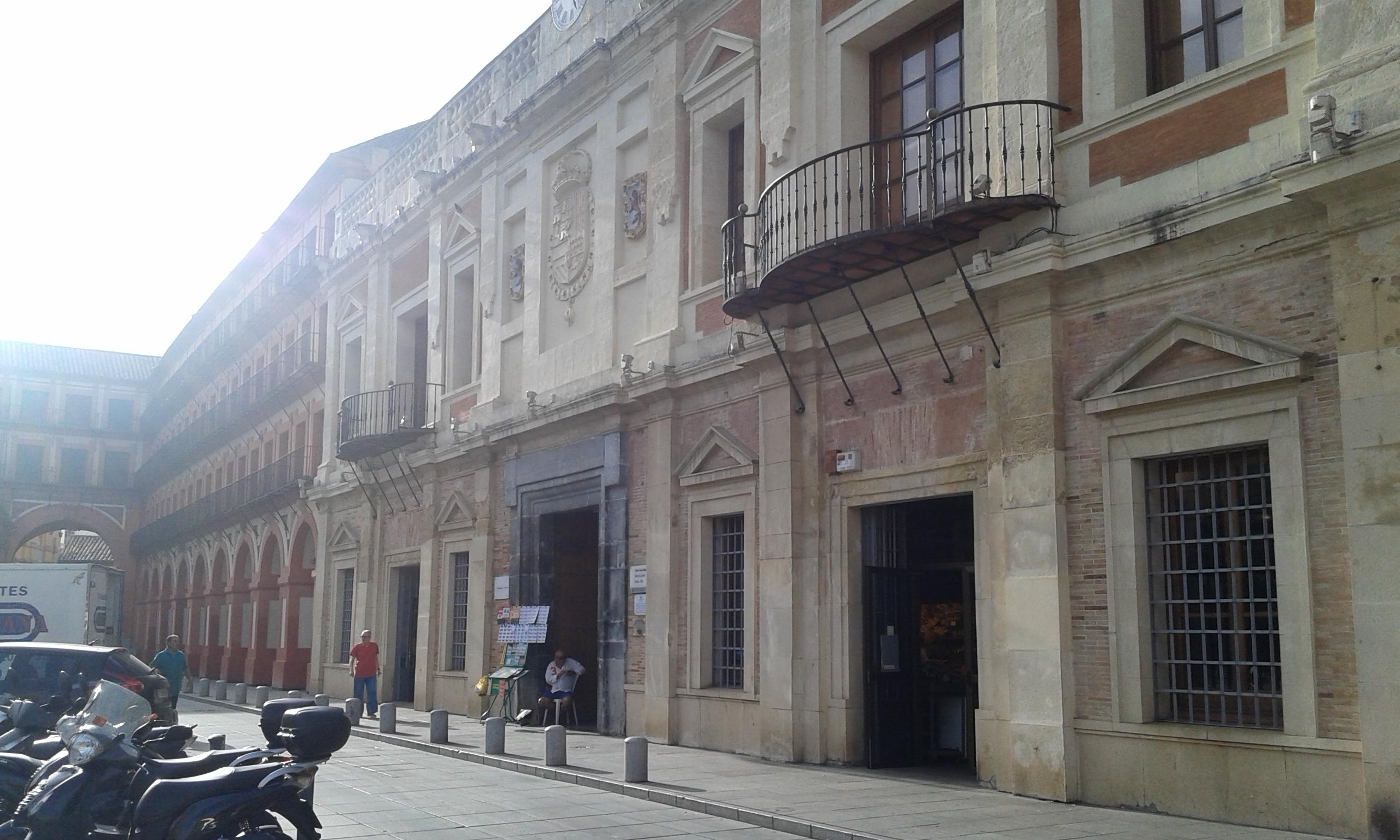 El mercado de la corredera en Córdoba