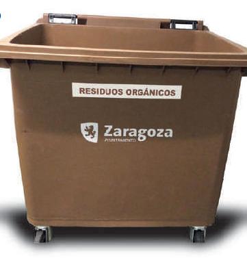El mercado colabora con la recogida de residuos orgánicos.