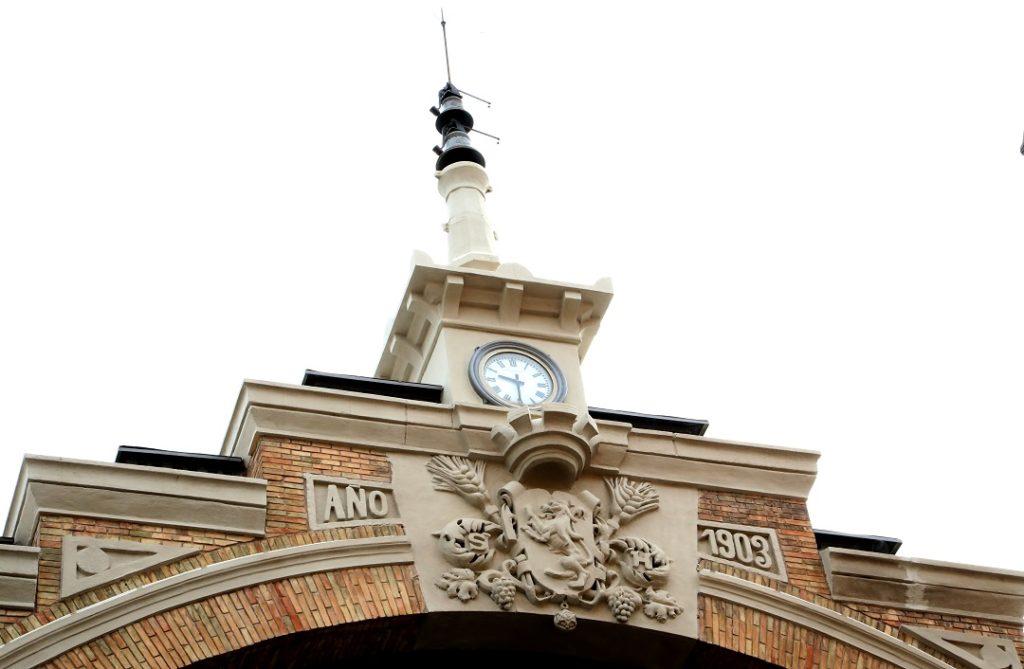 Remate fachada sur