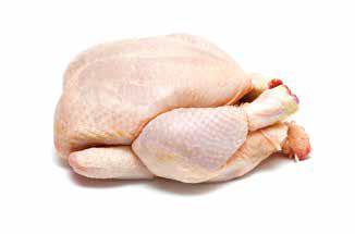El pollo, gran protagonista en fresco, elaborados y cocinados.